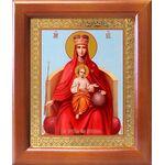 """Икона Божией Матери """"Державная"""", рамка 12,5*14,5 см - Иконы"""