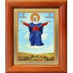 """Икона Божией Матери """"Спорительница хлебов"""", рамка 8*9,5 см - Иконы"""