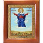"""Икона Божией Матери """"Спорительница хлебов"""", рамка 12,5*14,5 см - Иконы"""