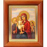 """Икона Божией Матери """"Трех Радостей"""", рамка 8*9,5 см - Иконы"""
