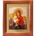 """Икона Божией Матери """"Трех Радостей"""", рамка 12,5*14,5 см - Иконы"""