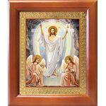 Воскресение Христово, икона в рамке 12,5*14,5 см - Иконы
