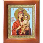 """Икона Божией Матери """"Скоропослушница"""", рамка 12,5*14,5 см - Иконы"""