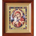 Жировицкая икона Божией Матери, киот 14,5*16,5 см - Иконы