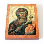 Влахернская икона Божией Матери, печать на доске 13*16,5 см - Иконы