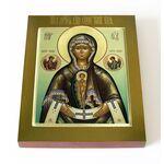 """Албазинская икона Божией Матери """"Слово плоть бысть"""", доска 13*16,5 см - Иконы"""