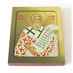 Святитель Арсений Сербский, архиепископ, икона на доске 13*16,5 см - Иконы