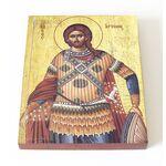 Великомученик Артемий Антиохийский, икона на доске 13*16,5 см - Иконы