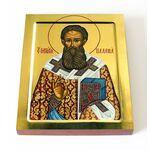 Святитель Григорий Палама, Солунский, икона на доске 13*16,5 см - Иконы