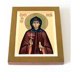 Преподобномученица Евдокия Римляныня, Ия, икона на доске 13*16,5 см - Иконы