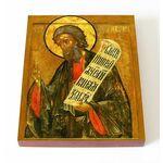 Пророк Иеремия, икона на доске 13*16,5 см - Иконы