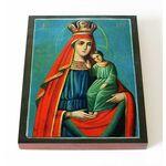 """Икона Божией Матери """"Избавление от бед страждущих"""", доска 13*16,5 см - Иконы"""
