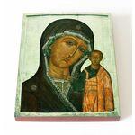 Казанская икона Божией Матери, 1650 г, печать на доске 13*16,5 см - Иконы