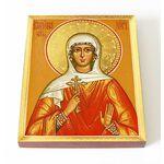 Мученица Кириена Тарсийская, икона на доске 13*16,5 см - Иконы