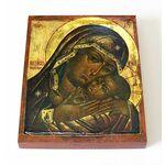 Корсунская икона Божией Матери, печать на доске 13*16,5 см - Иконы