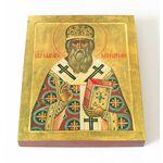 Святитель Макарий митрополит Московский, икона на доске 13*16,5 см - Иконы