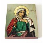 Мученица Маркелла Хиосская, икона на доске 13*16,5 см - Иконы