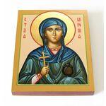 Мученица Миропия Хиосская, икона на доске 13*16,5 см - Иконы