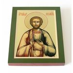 Мученик Павел Кесарийский, икона на доске 13*16,5 см - Иконы