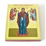 """Икона Божией Матери """"Нерушимая Стена"""", печать на доске 13*16,5 см - Иконы"""