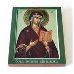 Калужская икона Божией Матери, доска 13*16,5 см - Иконы