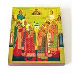 Собор Сибирских святых, икона на доске 13*16,5 см - Иконы