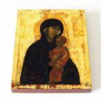 Пименовская икона Божией Матери, 1380-е годы, доска 13*16,5 см - Иконы