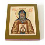Преподобный Платон Студийский, икона на доске 13*16,5 см - Иконы