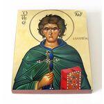 Преподобный Иоанн Кущник, икона на доске 13*16,5 см - Иконы