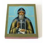 Преподобный Иосиф Волоцкий, Волоколамский, икона на доске 13*16,5 см - Иконы