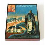 Преподобный Феодосий Тотемский, икона на доске 13*16,5 см - Иконы