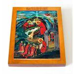 Рождество Христово, икона на доске 13*16,5 см - Иконы