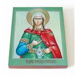 Мученица Фотина Самаряныня Римская, икона на доске 13*16,5 см - Иконы