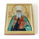 Священноисповедник Агафангел Ярославский, икона на доске 13*16,5 см - Иконы