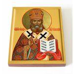 Священномученик Иоанн Поммер, архиепископ Рижский, доска 13*16,5 см - Иконы