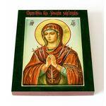 """Икона Божией Матери """"Умягчение злых сердец"""", доска 13*16,5 см - Иконы"""