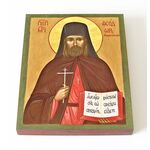 Преподобномученик Феодор Богоявленский, икона на доске 13*16,5 см - Иконы