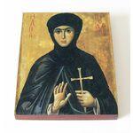 Преподобномученица Феодосия Константинопольская, доска 13*16,5 см - Иконы