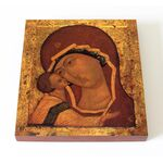 Игоревская икона Божией Матери, печать на доске 14,5*16,5 см - Иконы