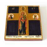 Купятицкая икона Божией Матери, печать на доске 14,5*16,5 см - Иконы