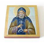 Преподобный Гавриил Седмиезерный, Зырянов, икона на доске 14,5*16,5 см - Иконы