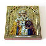 Священномученик Григорий Армянский, икона на доске 14,5*16,5 см - Иконы