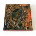 Чимеевская Казанская икона Божией Матери, печать на доске 14,5*16,5 см - Иконы
