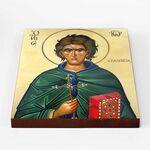 Преподобный Иоанн Кущник, икона на доске 20*25 см - Иконы