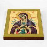Икона Божией Матери «Семистрельная», печать на доске 20*25 см - Иконы