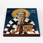 Святитель Тарасий Константинопольский, икона на доске 20*25 см - Иконы