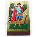 Михаил Архангел, Архистратиг, икона на доске 7*13 см - Иконы
