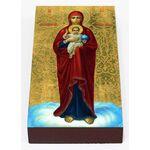 Валаамская икона Божией Матери, печать на доске 7*13 см - Иконы
