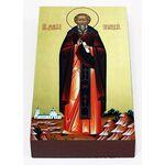 Преподобный Димитрий Прилуцкий, икона на доске 7*13 см - Иконы