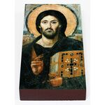 Спас Синайский или Христос Пантократор, икона на доске 7*13 см - Иконы